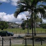 Praça perto do porto