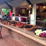 Beautiful outdoor kitchen.