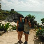 Syd and Lisa, Tulum Ruins