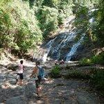 The waterfall, absolutely beautiful!