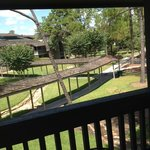 Our balcony!  Great summer breeze and naps could be taken here!