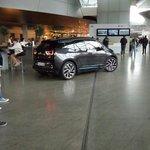 New electric BMW car...