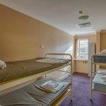 A 4 Bed dorm room
