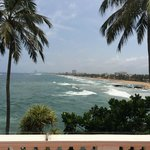 views from the terrace and ocean view rooms