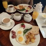 Awsome breakfast at Hotel 1110