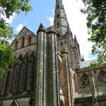 North transept and center spire