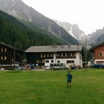 Arriving from Champex, a welcome sight!