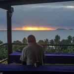 sunrise on the terrasse