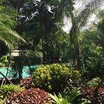 Beautiful garden away from Bangkok's bustle and hustle
