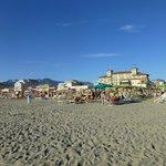 El hotel desde la playa