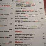 Cafe Sann burger choice