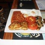 a lovely vegie breakfast