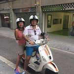 Rented a 125cc Vespa at Vesping