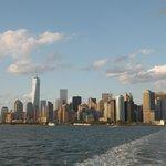 Manhattan de jour depuis le ferry
