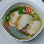 Clear Soup with Vegetables and Chicken