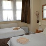 Room for 2-3 adults double and single bed