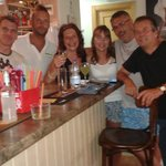 The fantastic staff of the babylon hotel old town benidorm .just back from there today 27th Augu