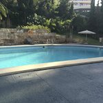 The swimming pool.