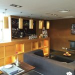A little bar at the hotel, very nice.