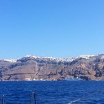 Fira from the boat