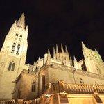 Catedral de Burgos de noche