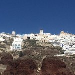 Oia from the boat