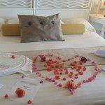Honeymoon welcome suprise