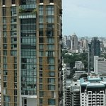 Panorama view from 45th floor