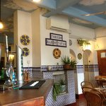 Inside Torero Tapas Bar