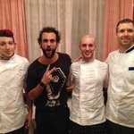 Our Chefs and Marco Mengoni