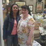 Avec Sandrine réceptioniste
