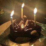 Our Honeymoon cake!