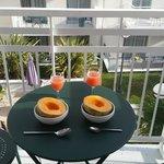 Pretty but miniature balcony