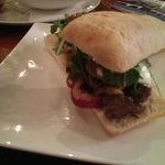 Lunch - steak ciabatta