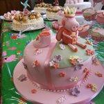 My Granddaughter's Christening Cake
