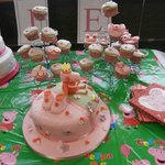 Cupcakes and Christening Cake