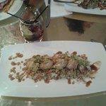 Pollo Teriyaki con cintronela y lima acompañado con arroz basmati