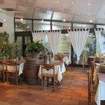 het gezellige restaurantje