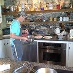 Claude cooking breakfast