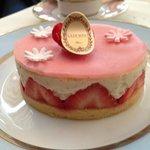 Fraisierというケーキ。