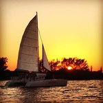 A sunset sail aboard Mariah is the perfect end to any day.