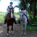 horseback riding to Mayan farm