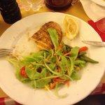 Menu do dia: lasanha + frango + pão 13 €