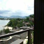 View from 2125 balcony. High tide it looks OK. ..