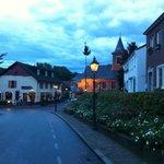 evening in the village