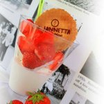 Summer favourite - Gelato and Strawberries