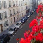 Altra vista di Rue du Docteur Heulin (molto silenziosa)