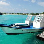Tropic Surf's surf boat.