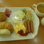 朝食(無料/洋食)