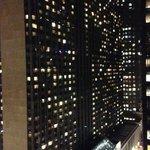 Panorama dal 23° piano di notte